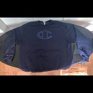 Champion Big C Crew Neck Sweat Shirt